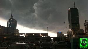 Burza nad stolicą [br]w Waszych obiektywach
