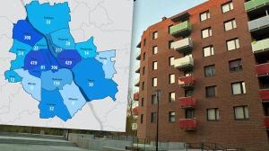W Warszawie jest ponad dwa tysiące miejskich pustostanów