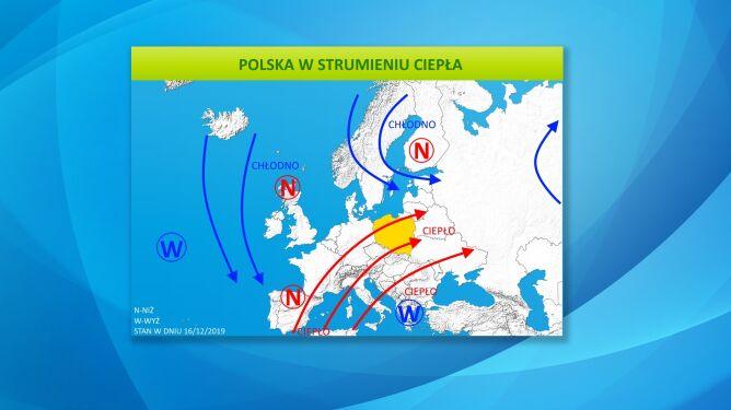Polska w strumieniu ciepła