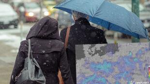 Pogoda na 5 dni: Mariusz i Małgorzata zapewnią nam kolejną dostawę deszczu i śniegu