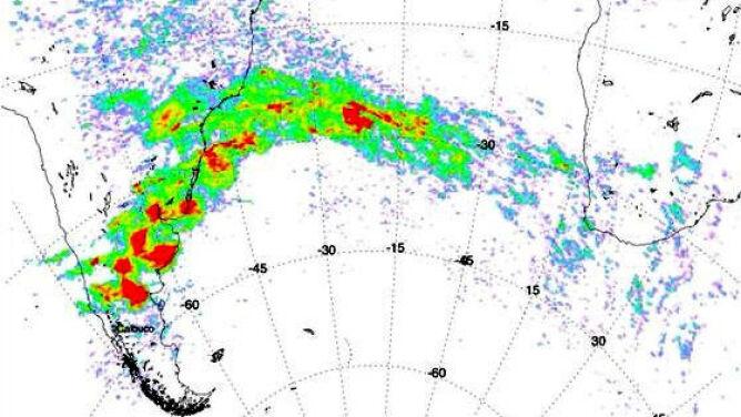Popiół wulkaniczny z Calbuco przemierzył Atlantyk. Toksyczna chmura nad Afryką