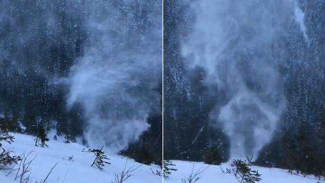 Zobaczyć je to cud. <br />Snownado w Tatrach